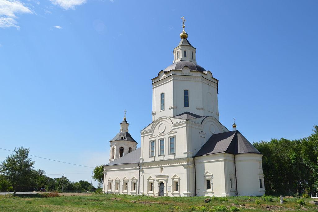 Преображенская (Ратная) церковь (Старочеркасская)
