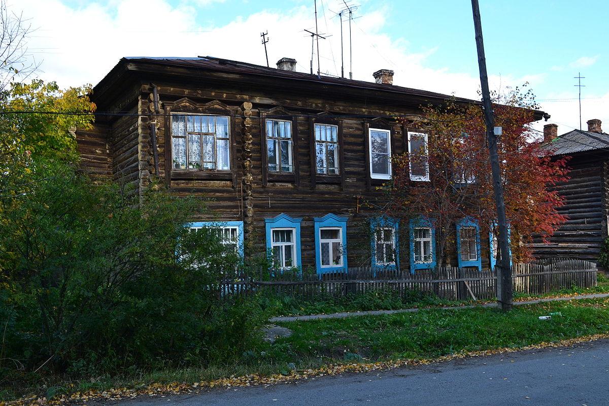 Деревянный жилой дом (Верхотурье)