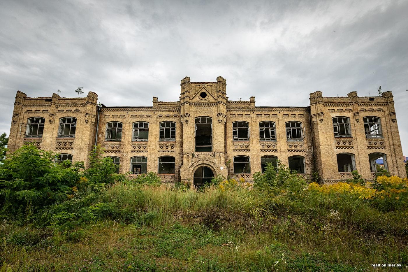 Здание бывшей уездной больницы (Мозырь)