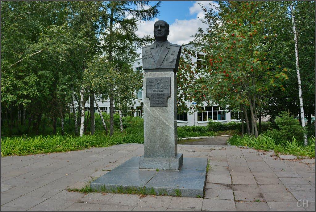 Памятник генерал-лейтенанту Ф. Ф. Петрову (Венёв)