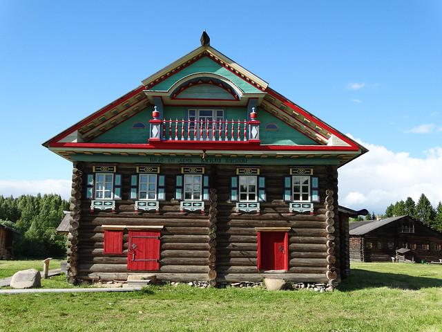 Музей деревянного зодчества в Семёнково (Вологда)