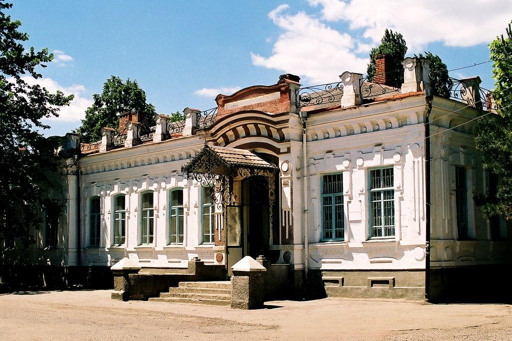 Здание социально-педагогического колледжа (Усть-Лабинск)