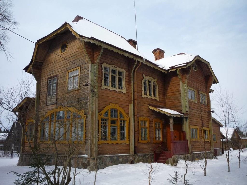 Деревянная дача капитана Прибыткова (Гатчина)