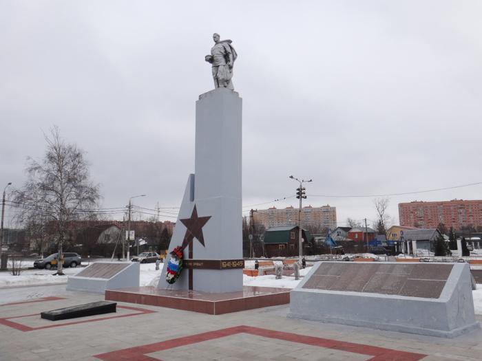 Памятник погибшим солдатам (Апрелевка)