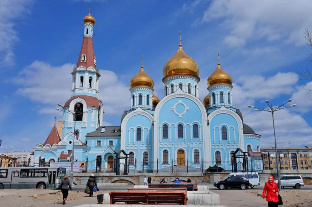 Казанский кафедральный собор (Чита)