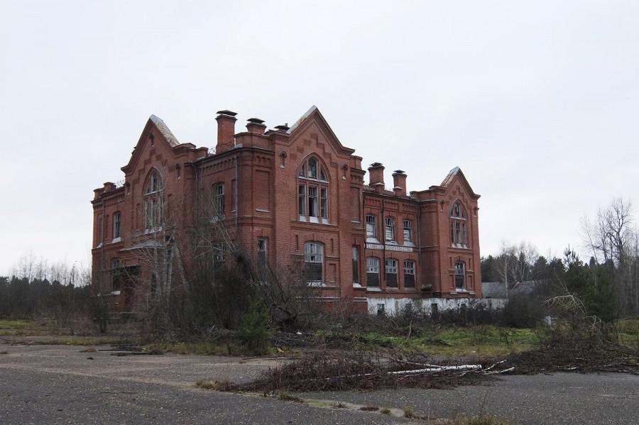 Здание Кологривского сельскохозяйственного училища (Кологрив)