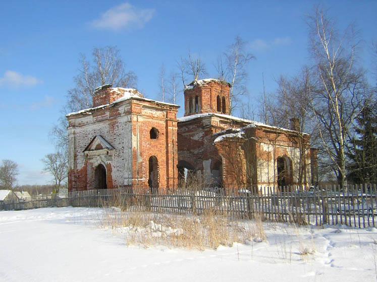 Церковь Покрова Пресвятой Богородицы (Мелехово) (Кириши)