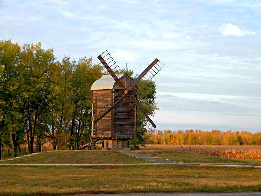 Ветряная мельница в Яковлево (Белгородская область)