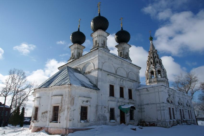 Церковь Воскресения Христова (Сусанино)