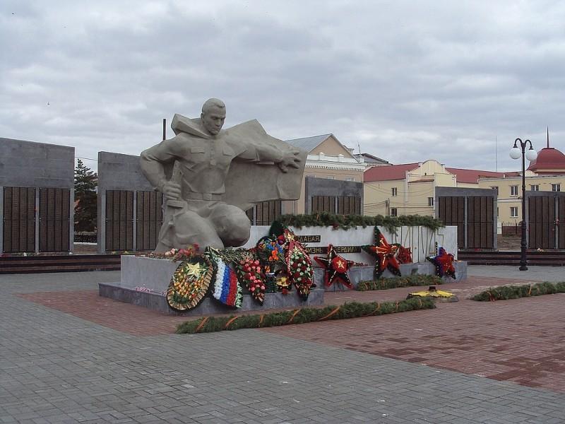 Мемориал погибшим в Великой Отечественной Войне (Троицк)