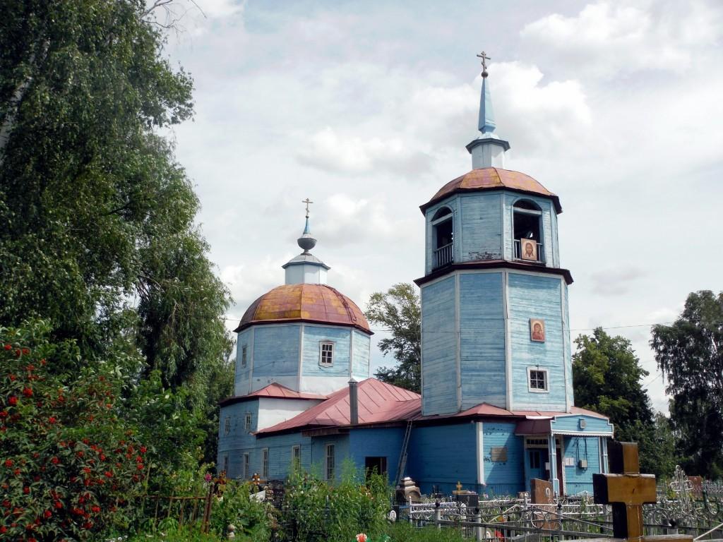 Церковь Казанской Иконы Божией Матери (Луховицы)