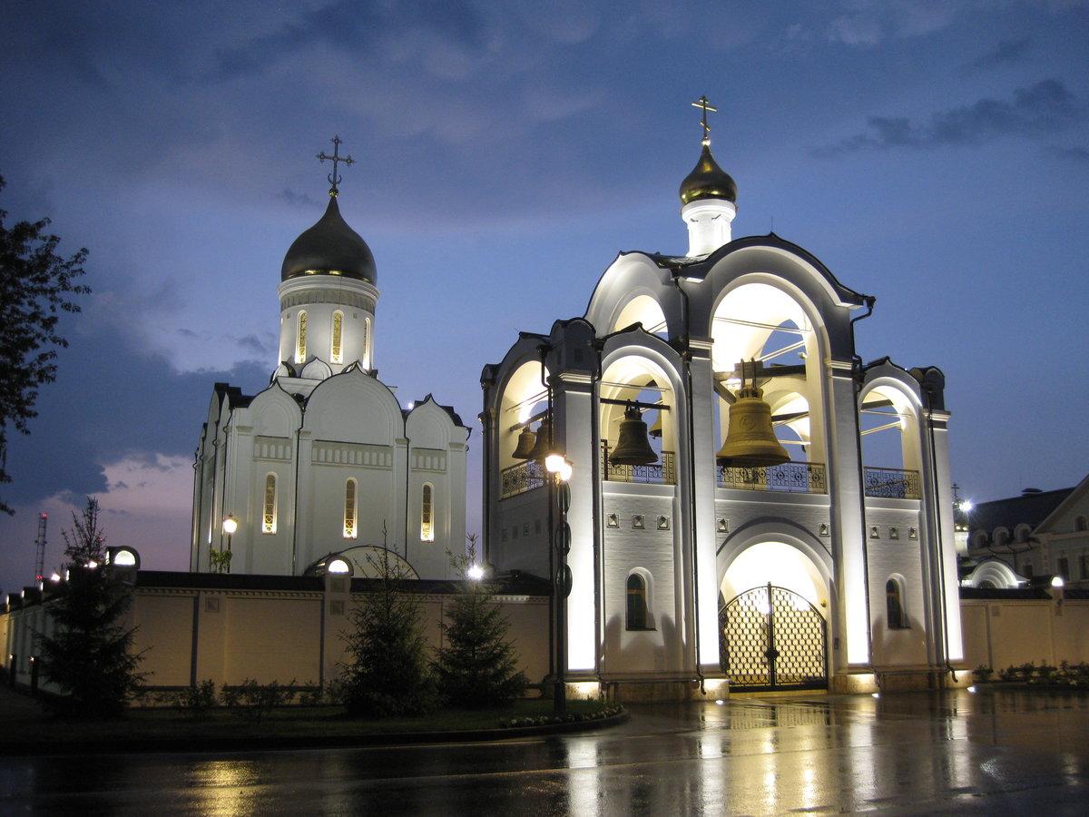 Церковь Спаса Нерукотворного Образа в Усово (Одинцово)