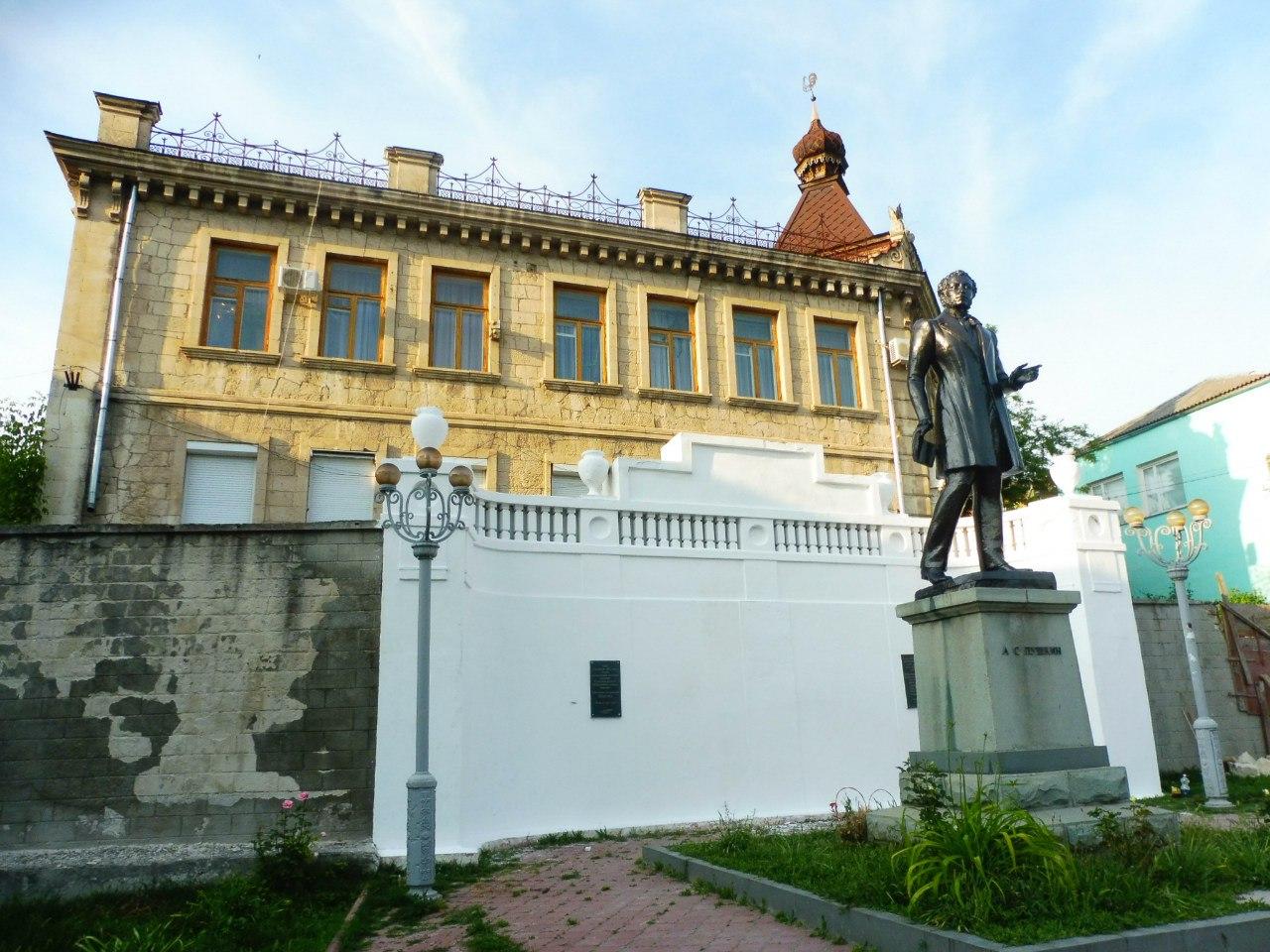 Памятник Пушкину (Бахчисарай)