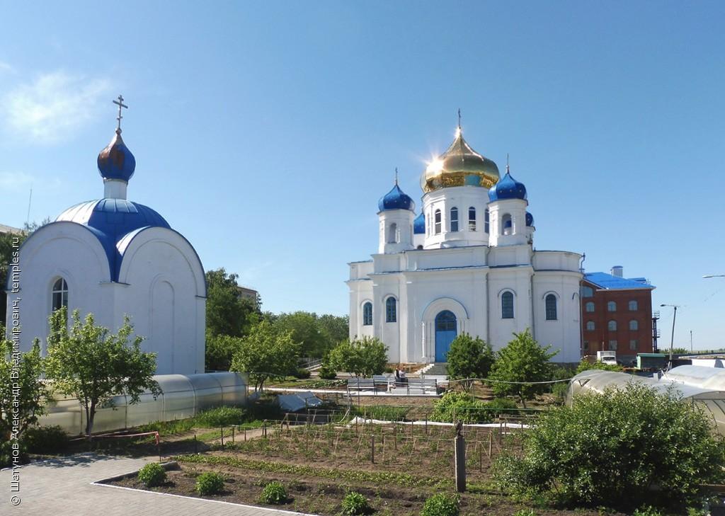 Преображенская церковь Казанско-Богородицкого монастыря (Троицк)