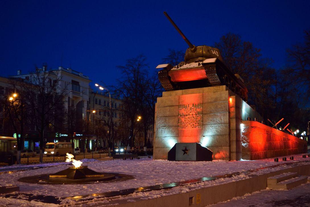 Памятник танкистам, освободителям города Орла (Орёл)