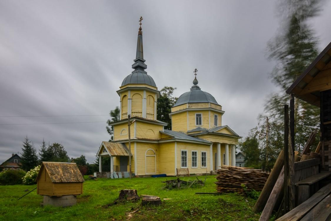 Церковь Николая Чудотворца в Мроткино (Новгородская область)