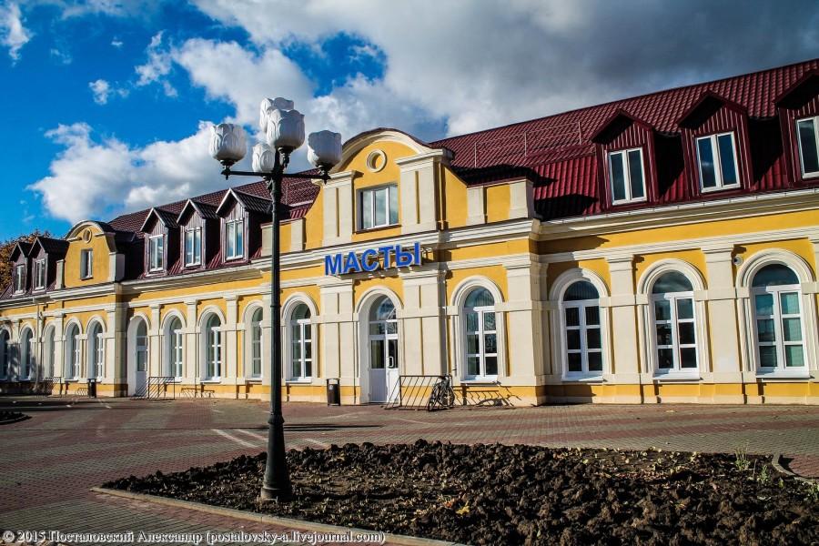 Железнодорожный вокзал «Мосты» (Гродненская область)