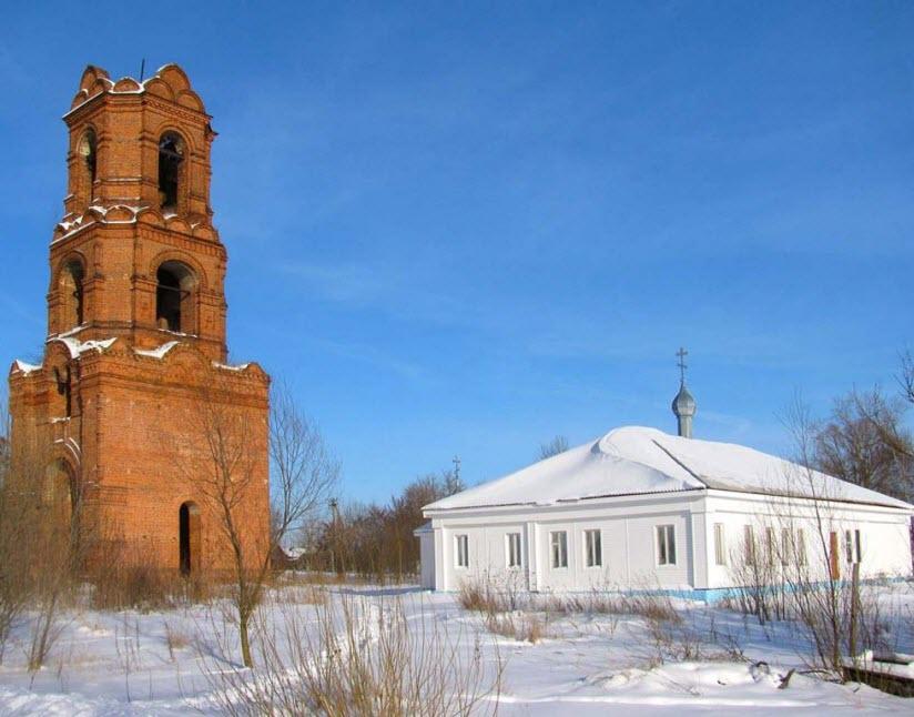 Казанская церковь в Бусаево (Спас-Клепики)