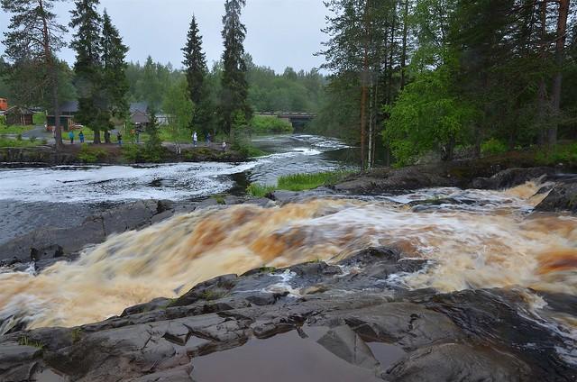 Рускеальские водопады (Сортавала)