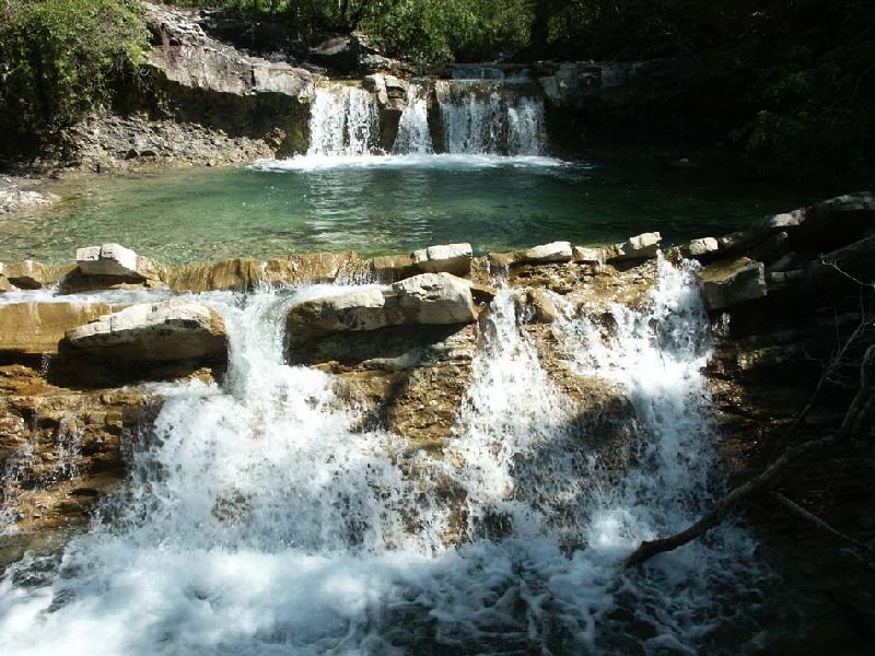 Пшадские водопады (Геленджик)