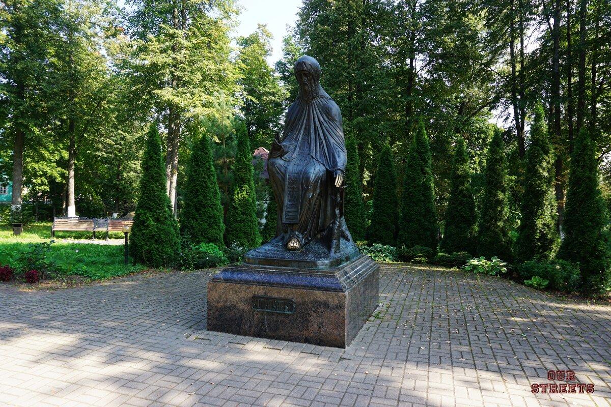 Памятник Святому Преподобному Савве Сторожевскому (Звенигород)