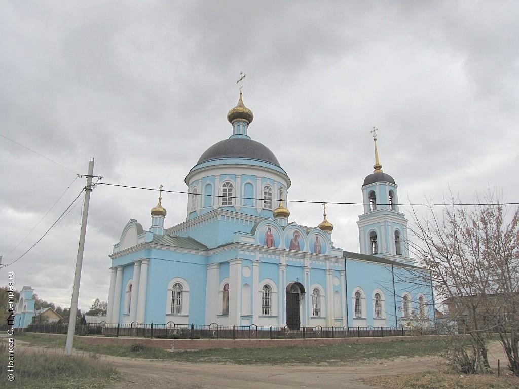 Казанская церковь (Солотча)