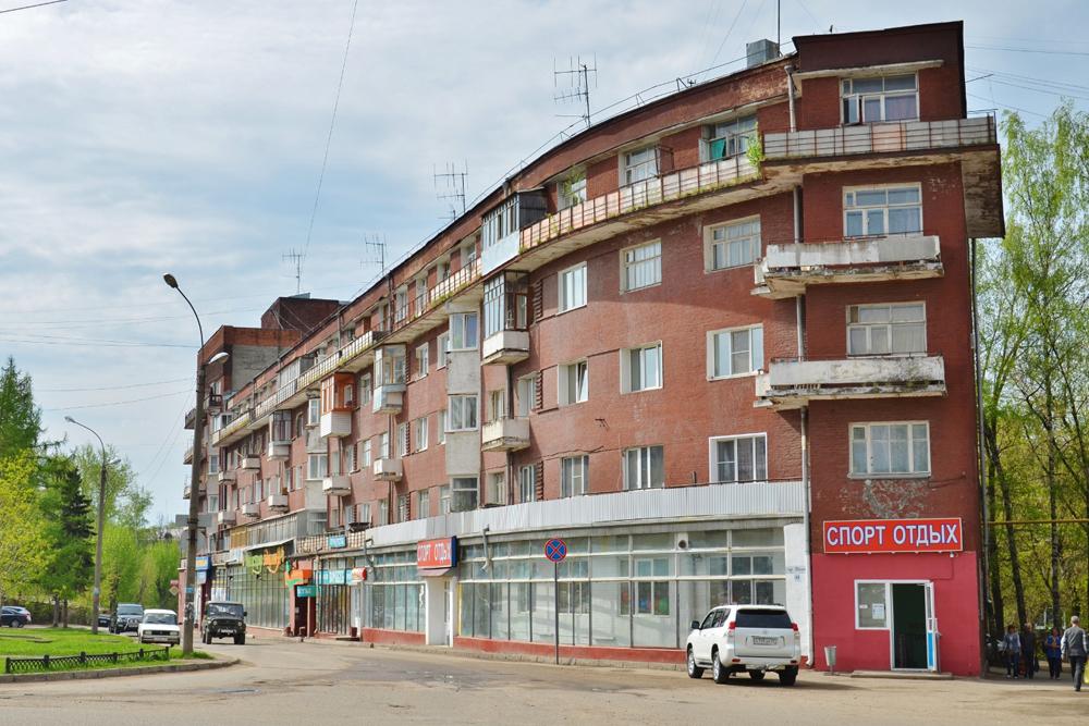 Дом «Корабль» (Иваново)