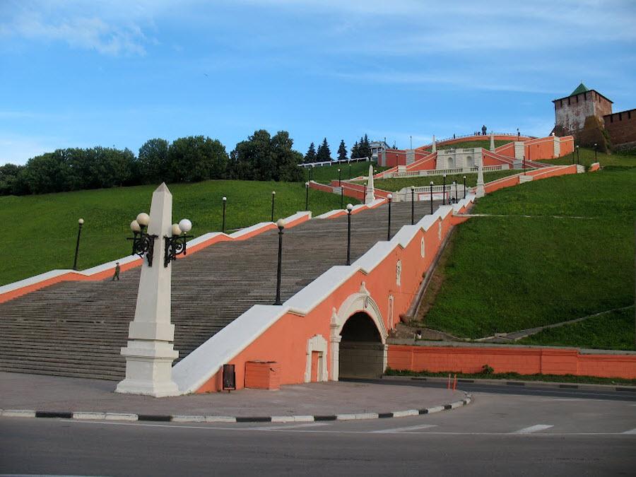 Чкаловская лестница (Нижний Новгород)