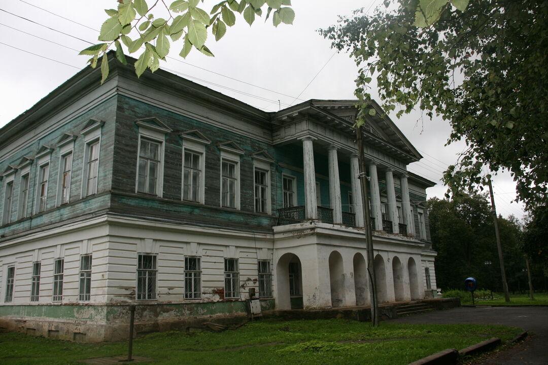 Усадьба «Спасское-Куркино» (Вологодская область)
