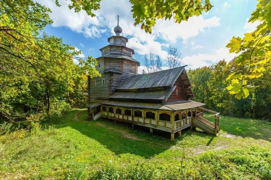 Музей деревянного зодчества «Щелоковский хутор» (Нижний Новгород)