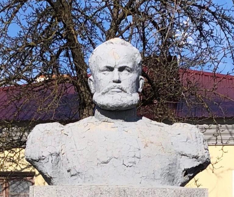 Памятник С. И. Мосину (Рамонь)