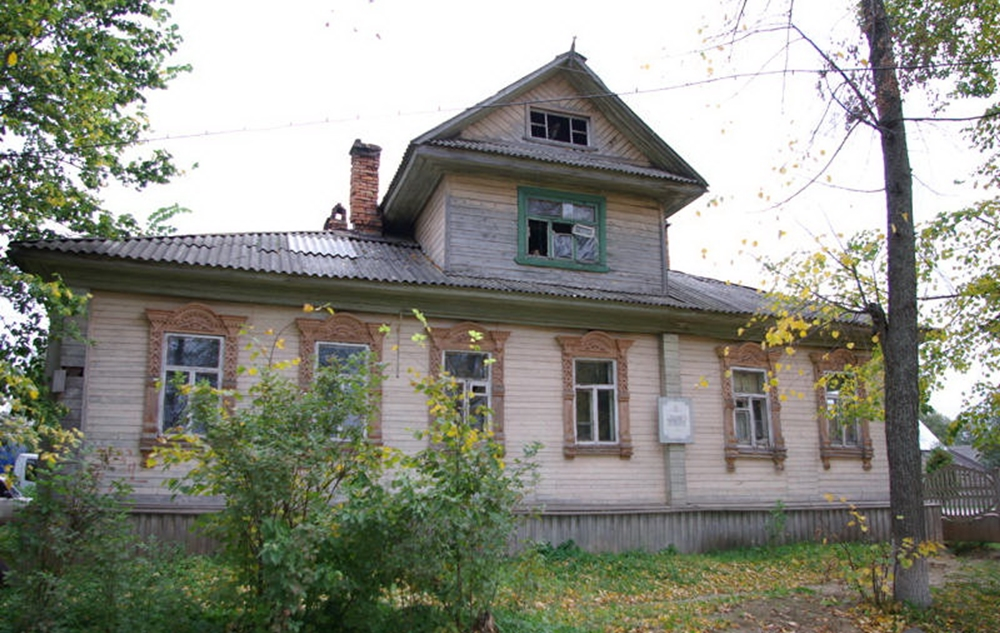 Вокзал графов Шереметьевых (Мышкин)