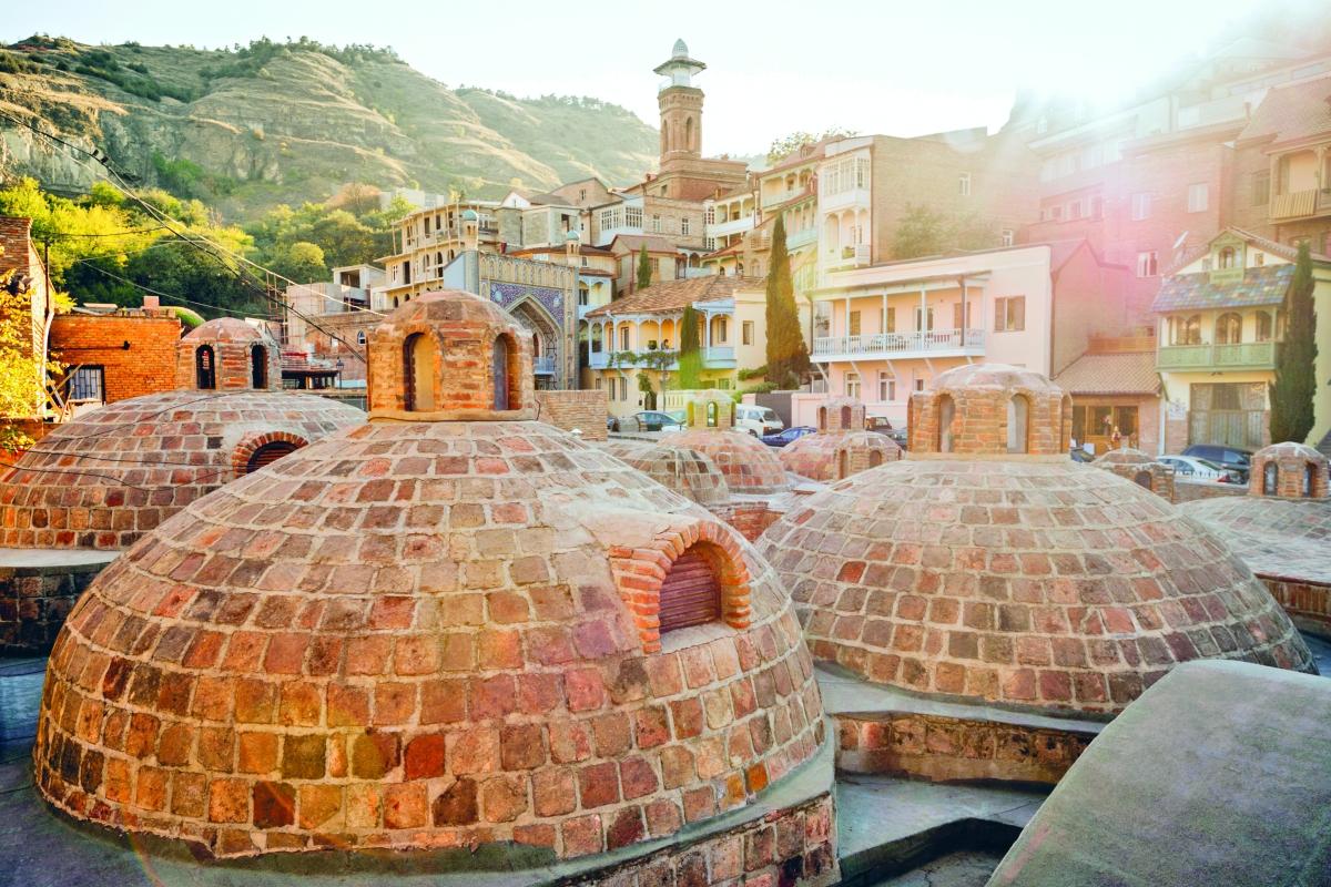 Тбилисские серные бани (Тбилиси)