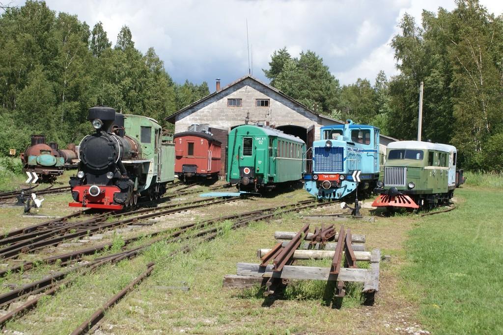 Железнодорожный музей Лавассааре (Эстония)