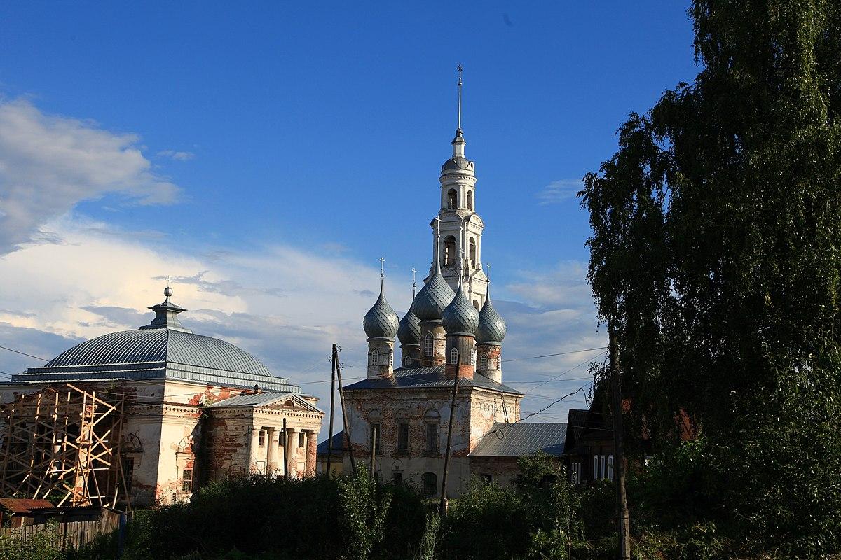 Старый Входоиерусалимский собор (Юрьевец)