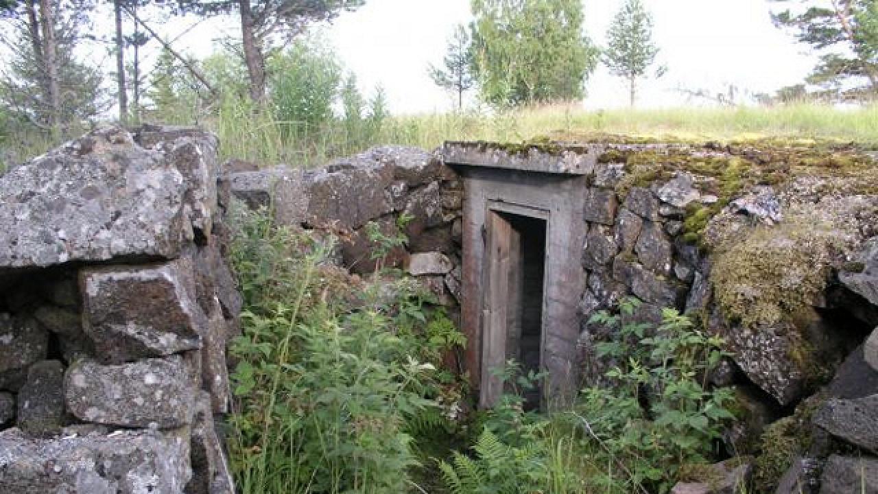 Оборонные сооружения линии Маннергейма (Валаам)