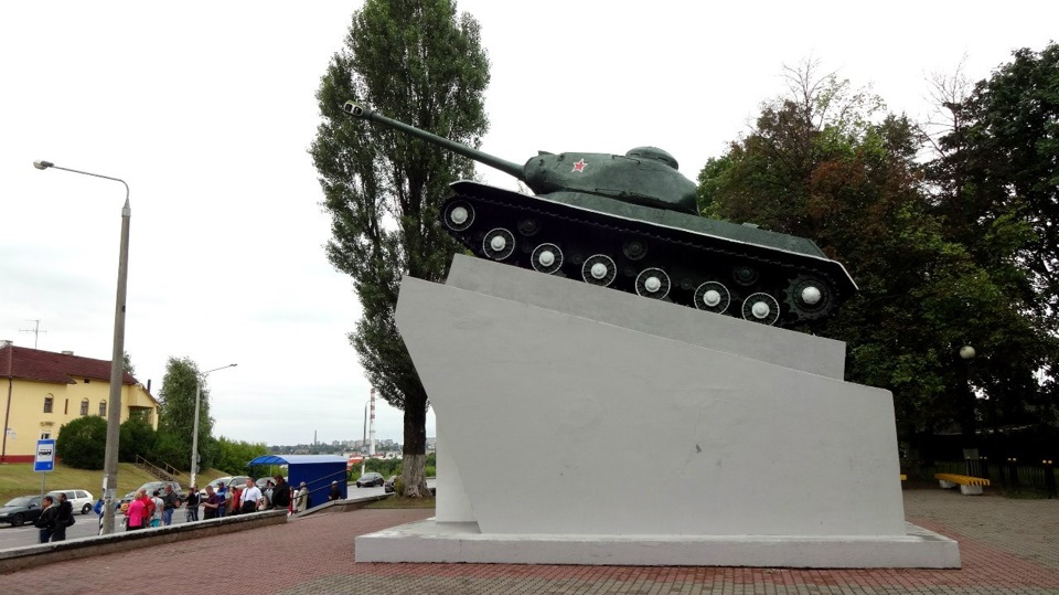 Памятник экипажу танка П. Рака (Борисов)