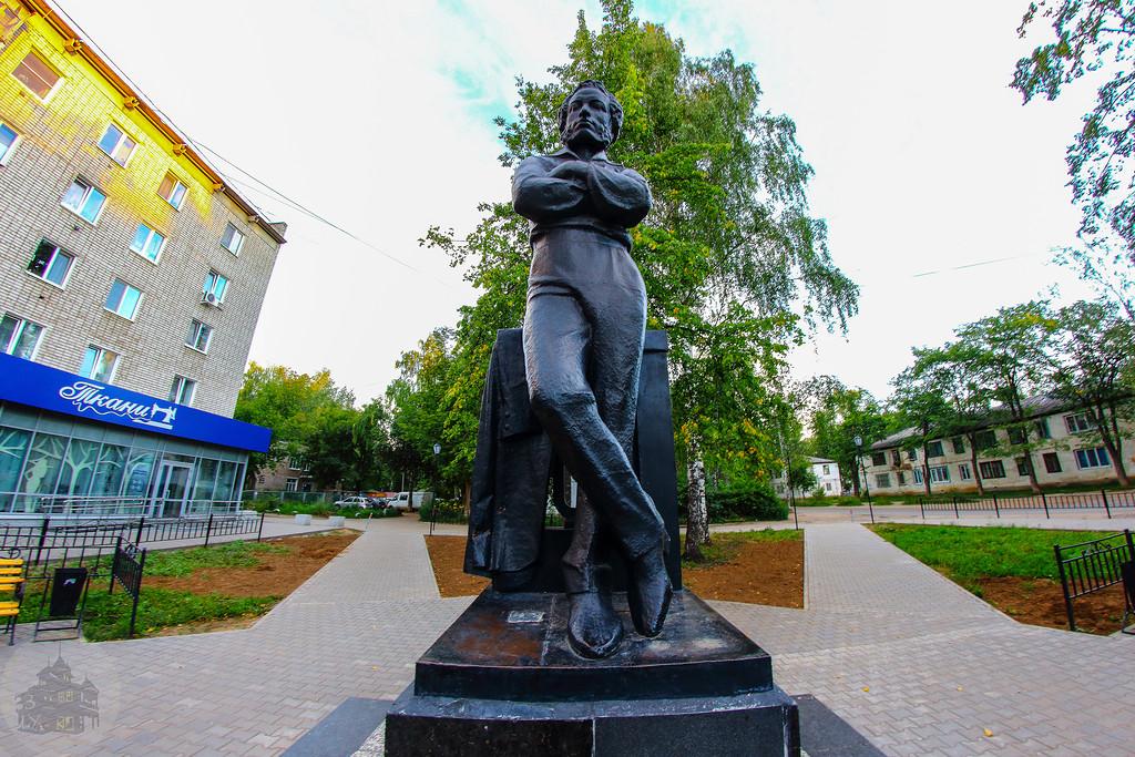 Памятник А. С. Пушкину (Чайковский)