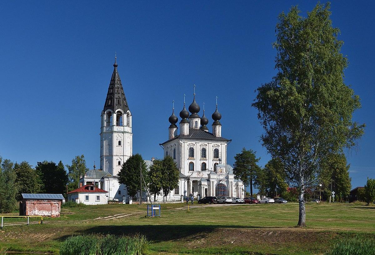 Знаменская церковь в селе Красном (Палех)