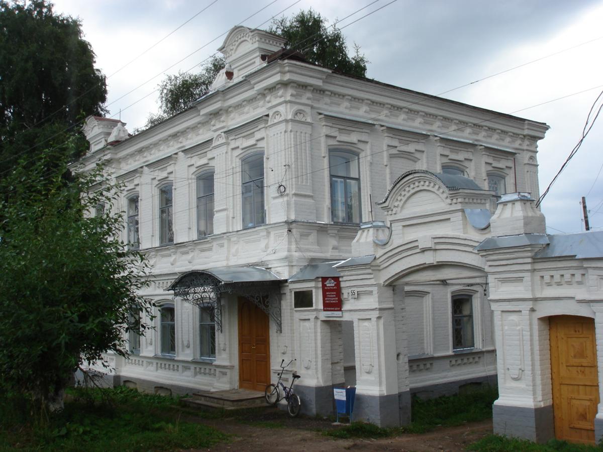 Усадьба купца Ремянникова (Чердынь)