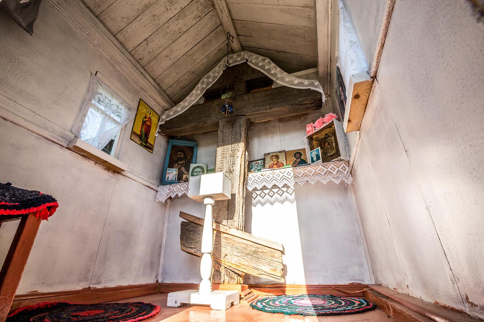 Придорожный крест в д. Татчелица (Олонец)