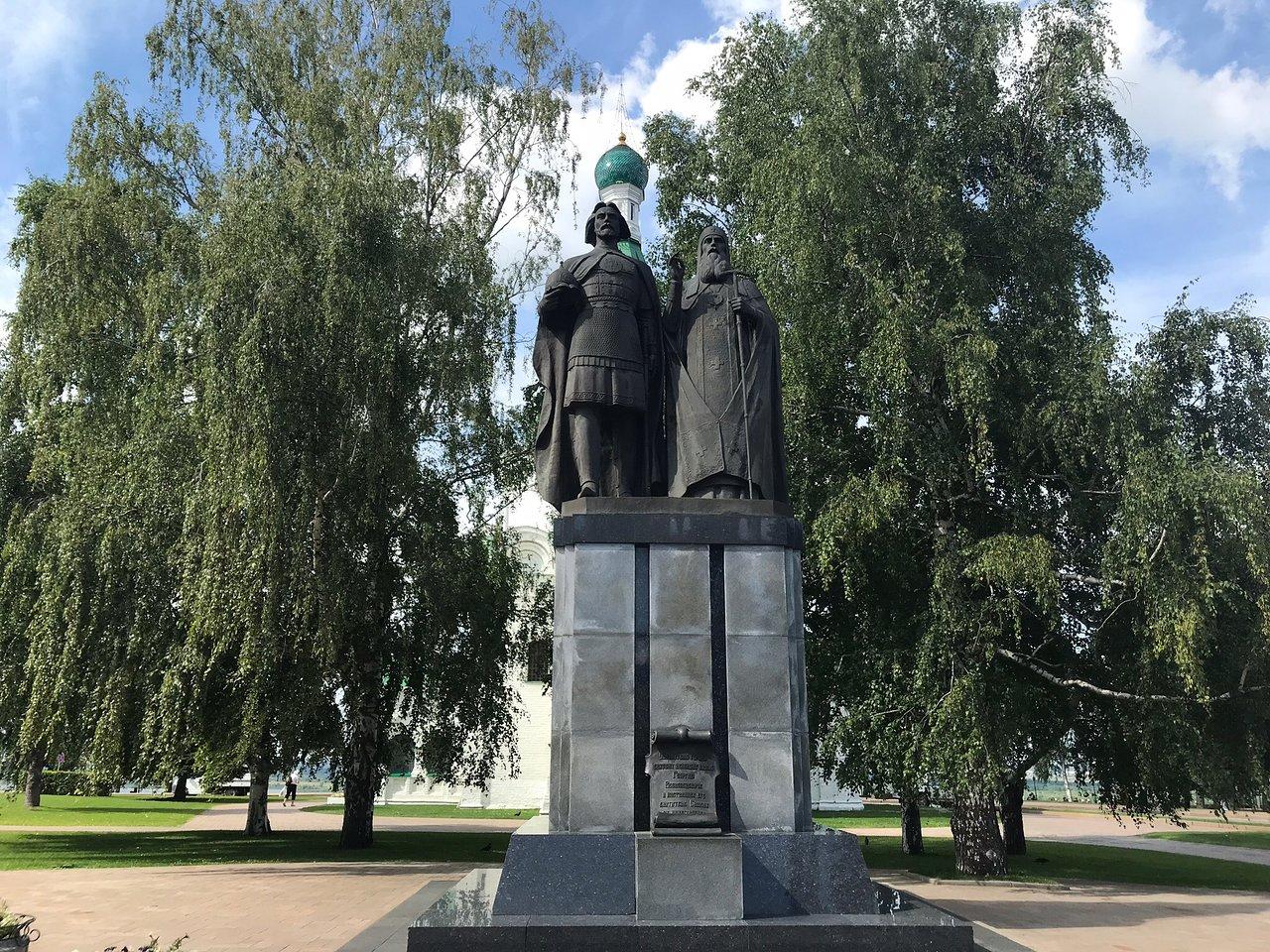 Памятник основателям Нижнего Новгорода (Нижний Новгород)