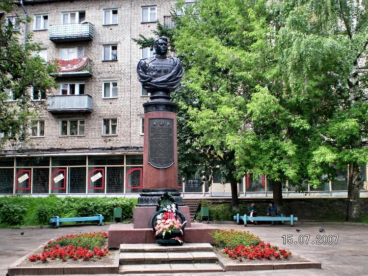 Бюст А. М. Василевского (Кинешма)