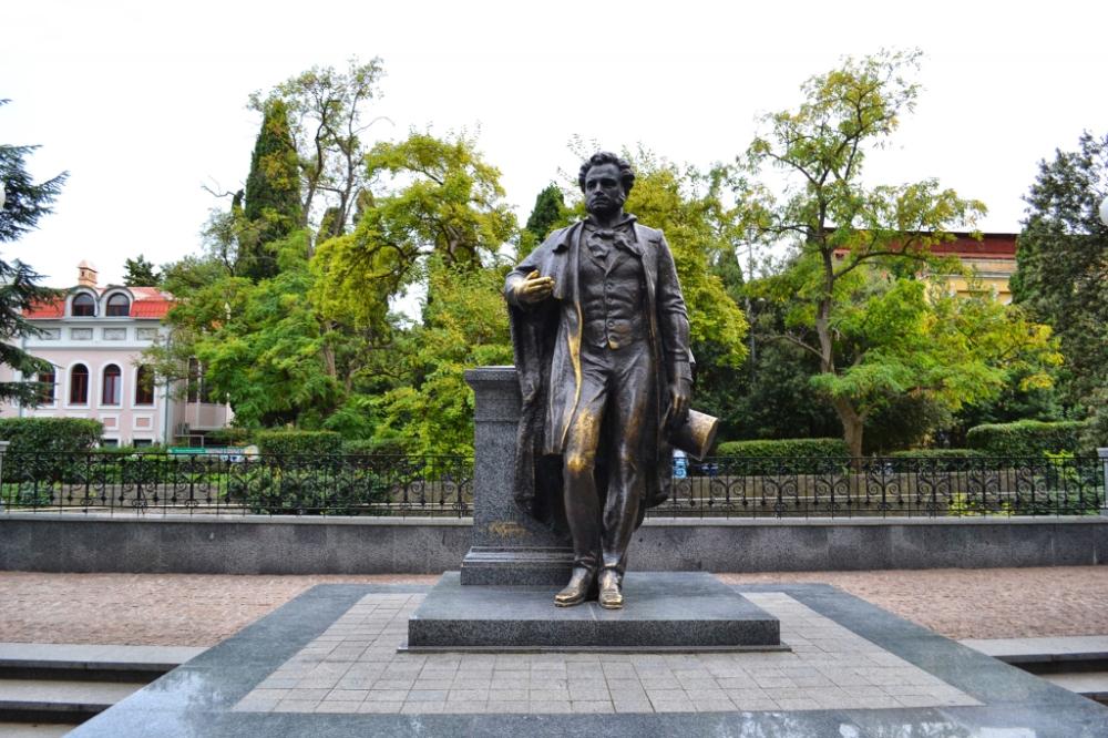 Памятник А. Пушкину (Ялта)