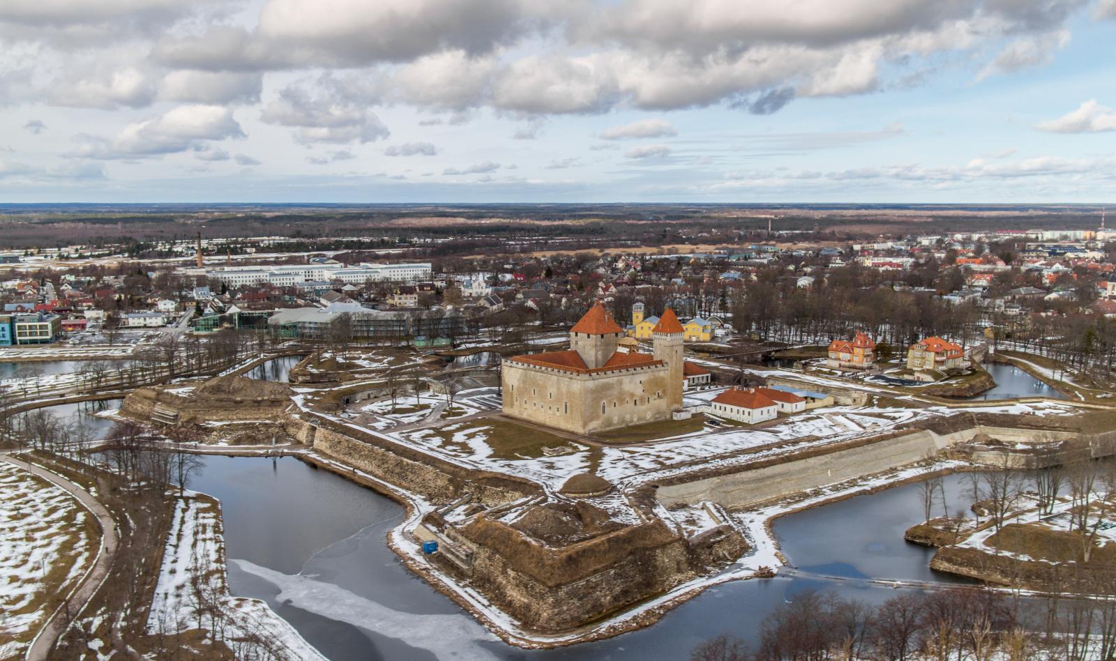Замок Курессааре (Аренсбург) (Эстония)