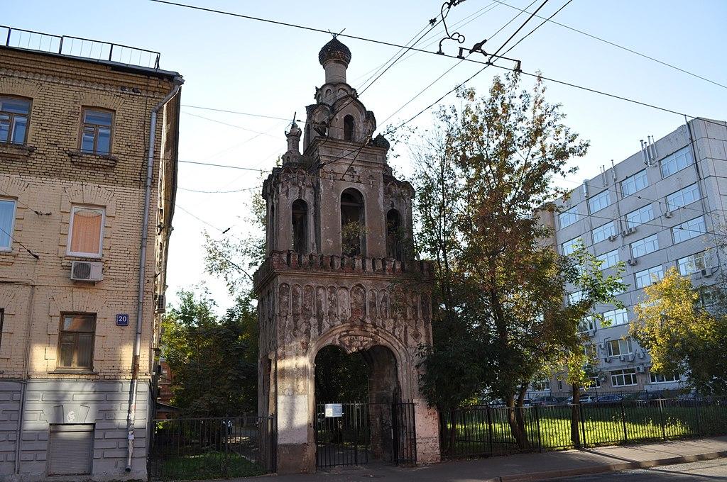Колокольня церкви Св. Екатерины (Москва)