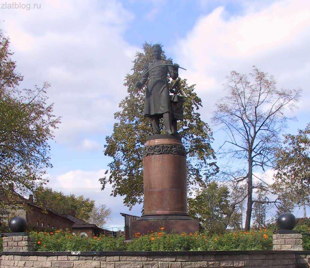 Памятник П. П. Аносову (Златоуст)