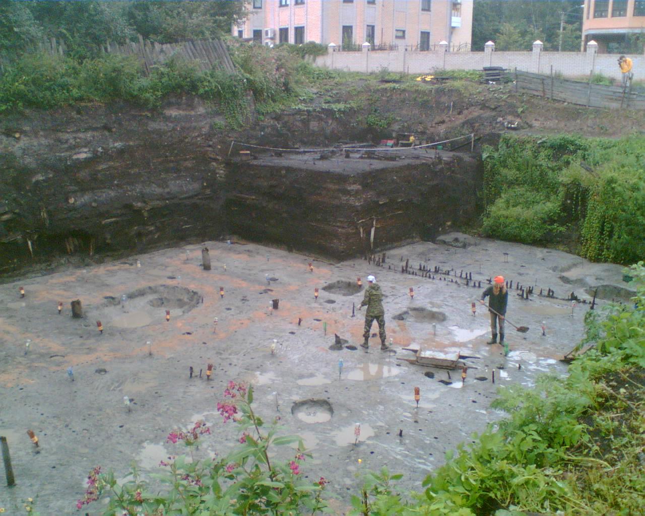 Археологический Троицкий раскоп (Великий Новгород)