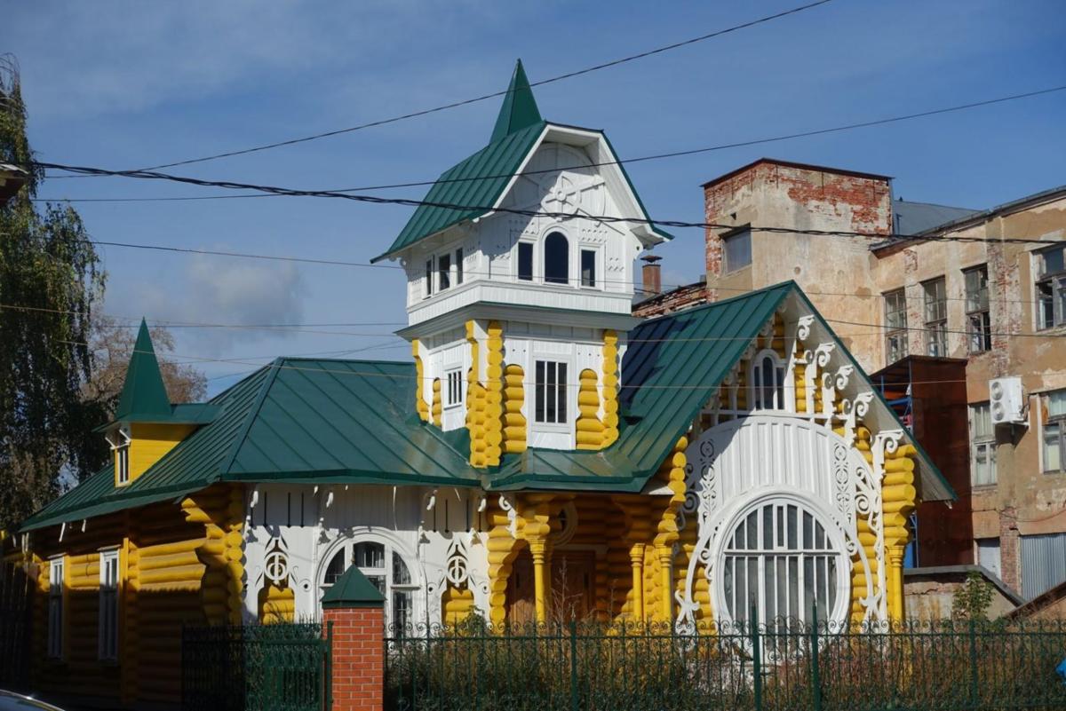 Дом купца Лужина (Кимры)