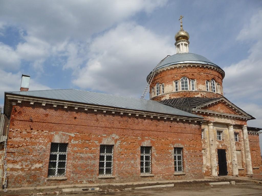 Церковь Николы Ратного (Троицкая) (Кашира)